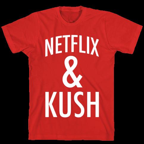 Netflix & Kush Mens T-Shirt