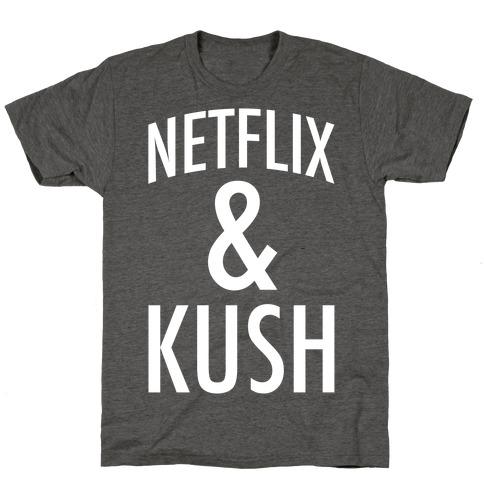 Netflix & Kush Mens/Unisex T-Shirt