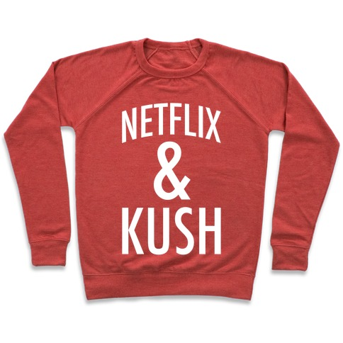 Netflix & Kush Pullover