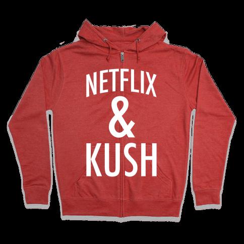 Netflix & Kush Zip Hoodie