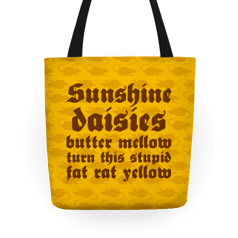 Sunshine, Daisies, Butter Mellow Tote