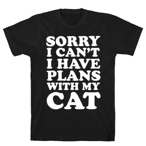 Cat Plans T-Shirt