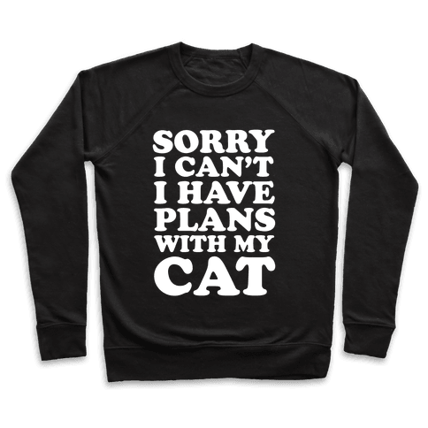 Cat Plans Pullover
