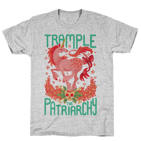 Trample The Patriarchy Mens/Unisex T-Shirt