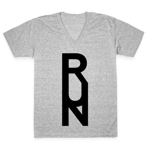 Run V-Neck Tee Shirt