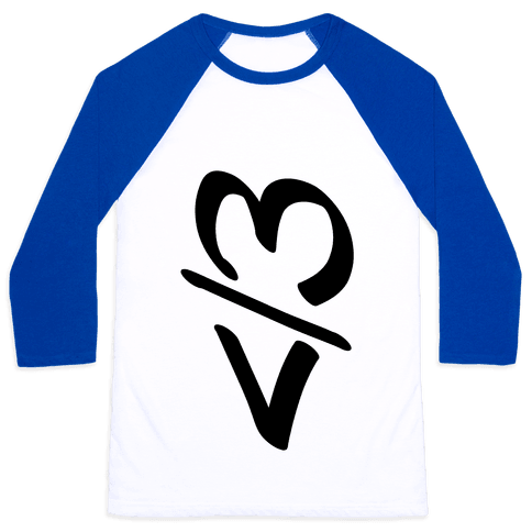 Broken Heart Baseball Tee