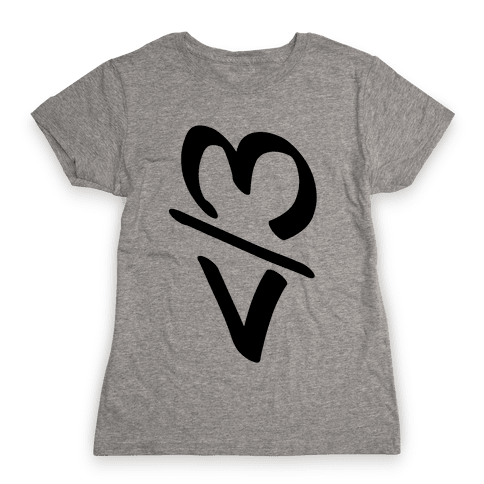 Broken Heart Womens T-Shirt
