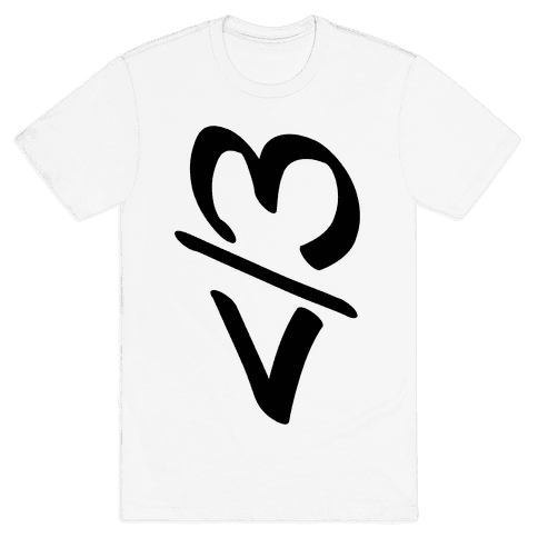 Broken Heart Mens T-Shirt