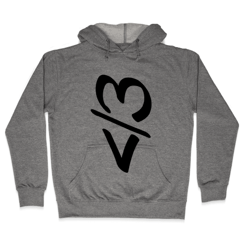Broken Heart Hooded Sweatshirt
