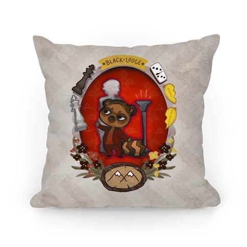 Black Lodge Pillow