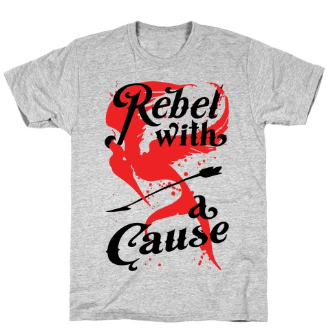 Rebel With A Cause Mens T-Shirt