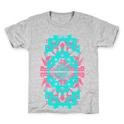Aztec Vintage (Sweater) Kids T-Shirt