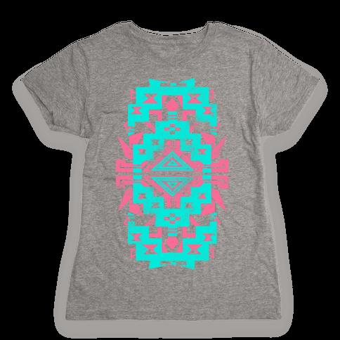 Aztec Vintage (Sweater) Womens T-Shirt