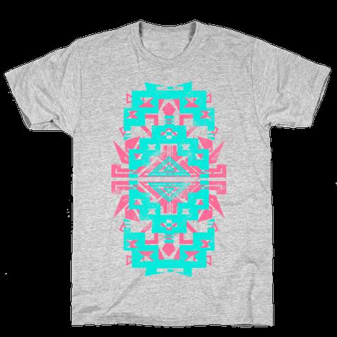 Aztec Vintage (Sweater) Mens T-Shirt