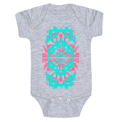 Aztec Vintage (Sweater) Baby Onesy