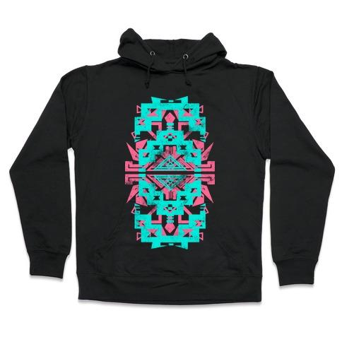 Aztec Vintage (Sweater) Hooded Sweatshirt