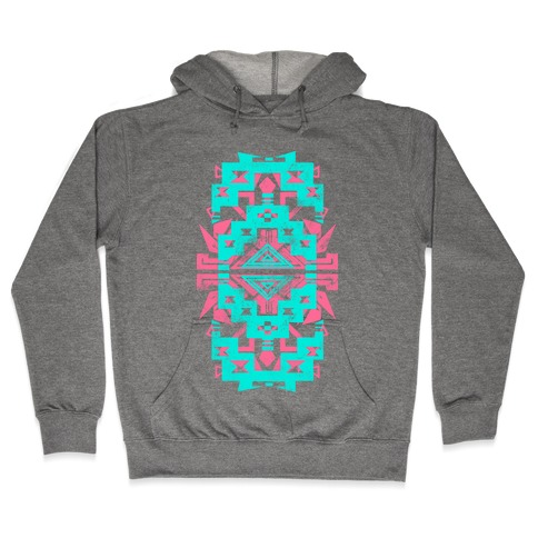 Aztec Vintage (Sweater) Hooded Sweatshirt