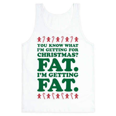 Fat Christmas Tank Top