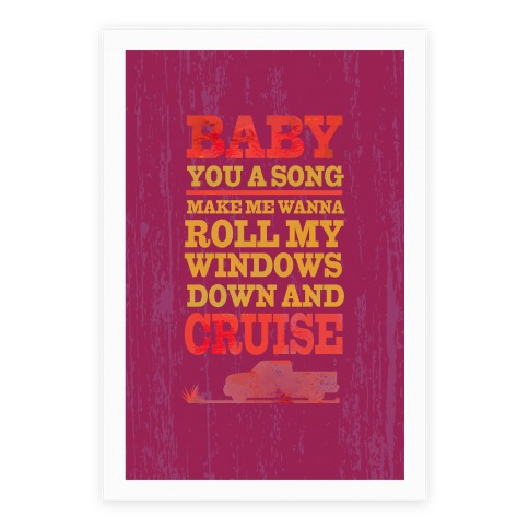 Baby You a Song Poster