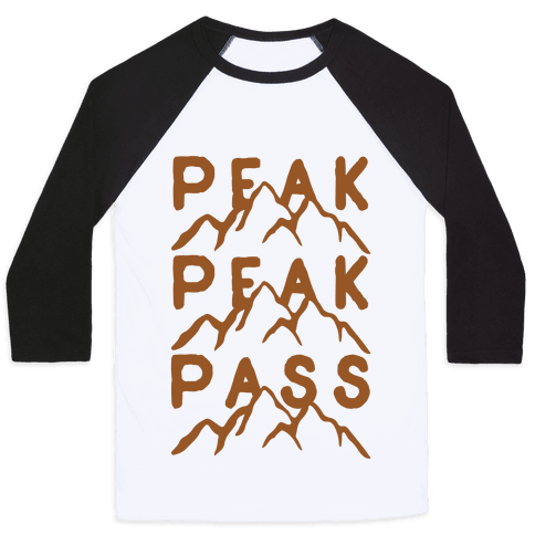 Peak Peak Pass Baseball Tee