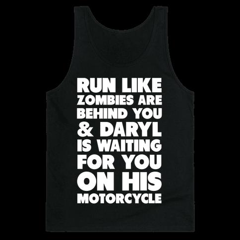 Run Like Daryl is Waiting Tank Top