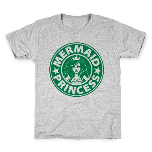 Mermaid Coffee Kids T-Shirt