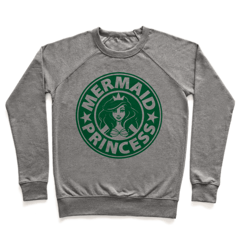 Mermaid Coffee Pullover
