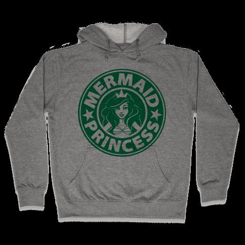 Mermaid Coffee Hooded Sweatshirt