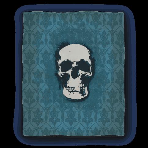 Sherlock Pop Skull Blanket