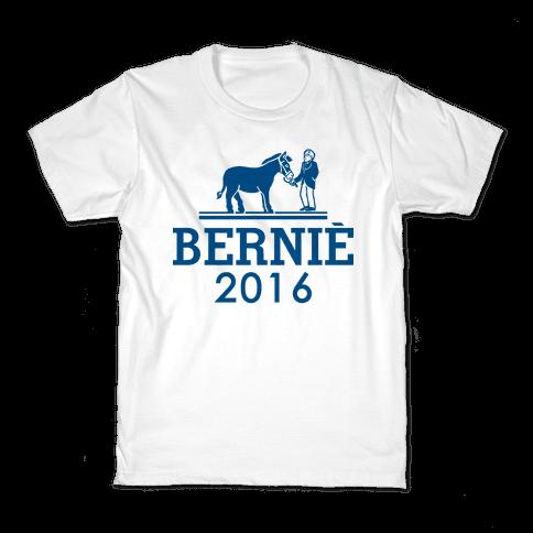 Bernie Sanders 2016 Fashion Parody Kids T-Shirt