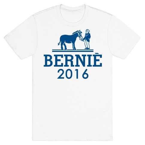 Bernie Sanders 2016 Fashion Parody T-Shirt