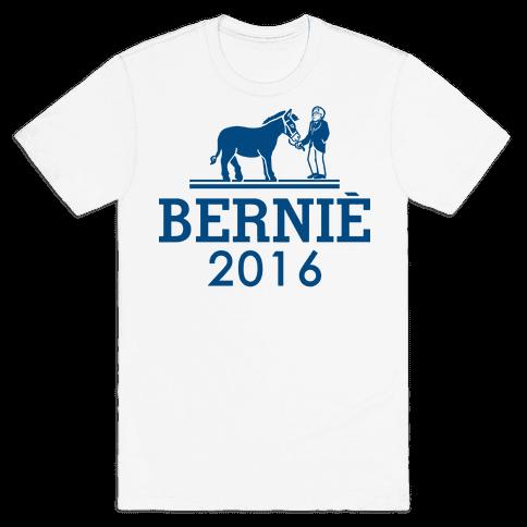 Bernie Sanders 2016 Fashion Parody Mens T-Shirt