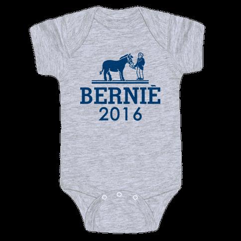 Bernie Sanders 2016 Fashion Parody Baby Onesy