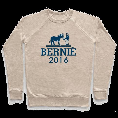 Bernie Sanders 2016 Fashion Parody Pullover
