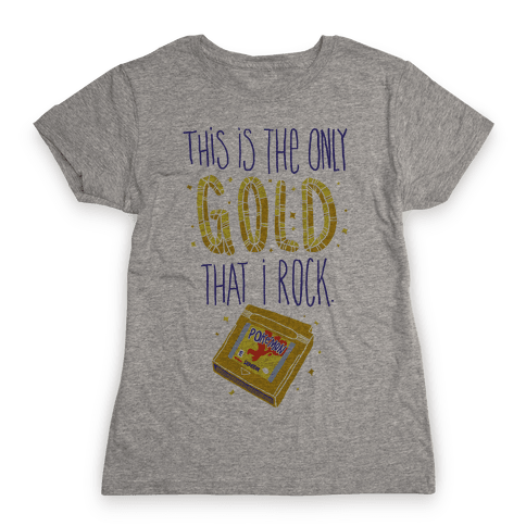 Gold Version Womens T-Shirt