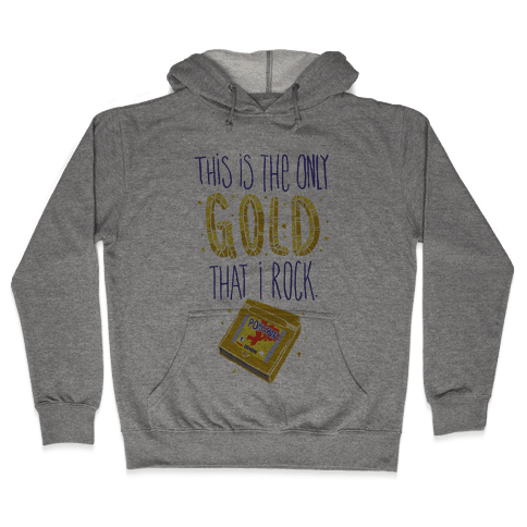 Gold Version Hooded Sweatshirt