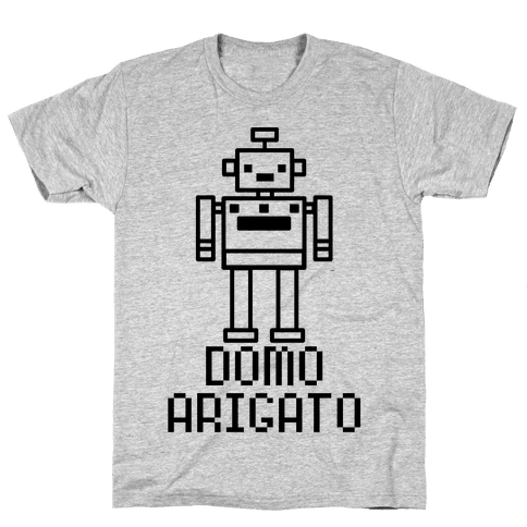 Domo Arigato Mens T-Shirt