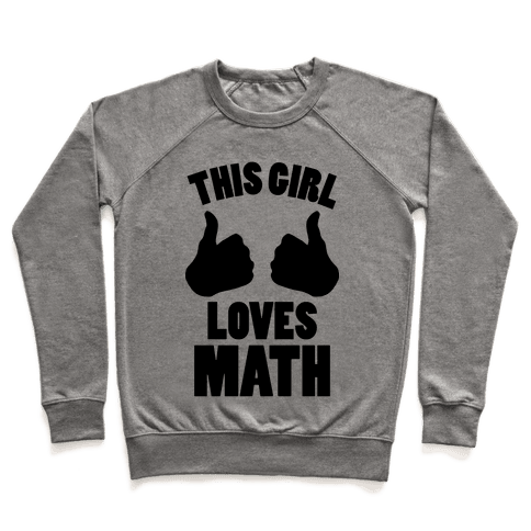 This Girl Loves Math Pullover