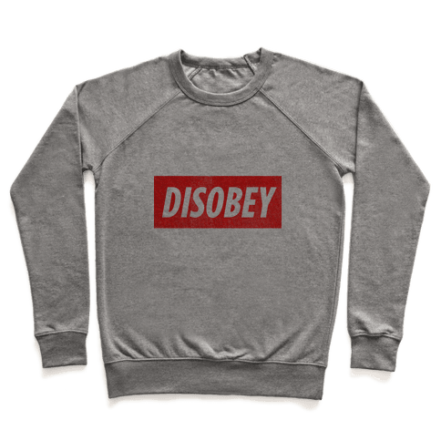 Disobey (tank) Pullover