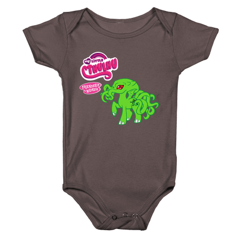 My Little Cthulhu: Friendship is Madness Baby One-Piece