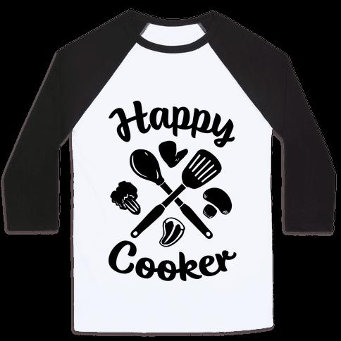 Happy Cooker Baseball Tee