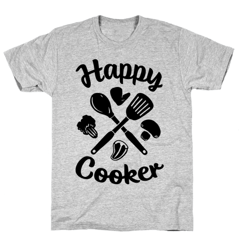 Happy Cooker Mens T-Shirt