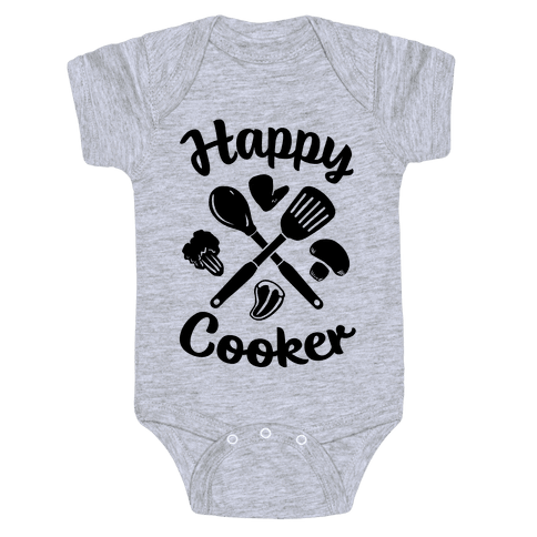 Happy Cooker Baby Onesy