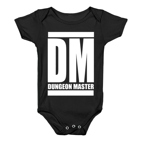 Dungeon Master Baby Onesy