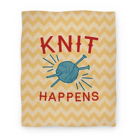 Knit Happens Blanket