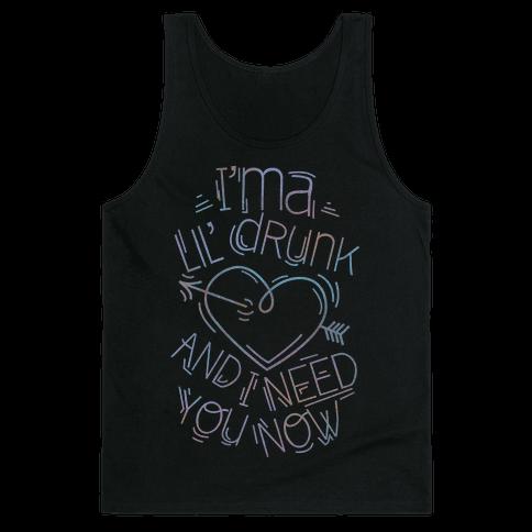 Lil Drunk (dark) Tank Top