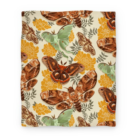 Moths & Marigolds Blanket