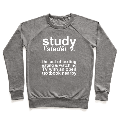 Study Definition Pullover