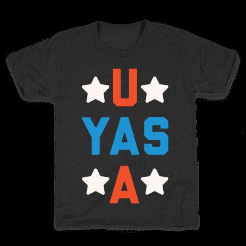 U Yas A Kids T-Shirt