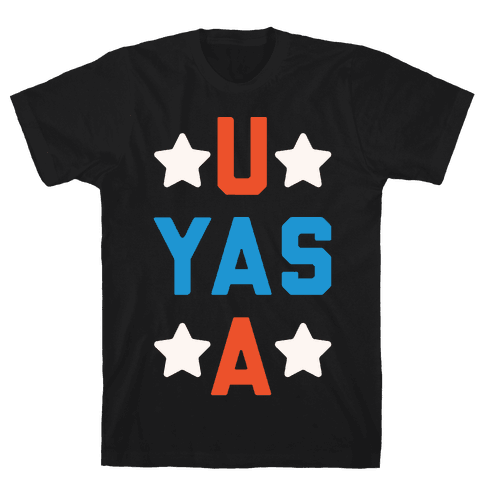 U Yas A Mens T-Shirt
